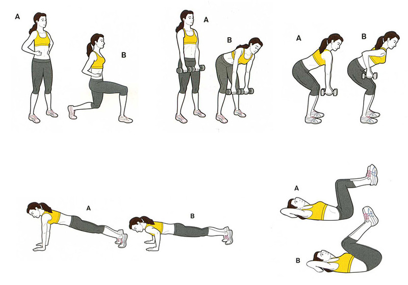 пульс при круговой тренировке
