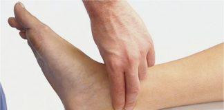 пульс на ноге